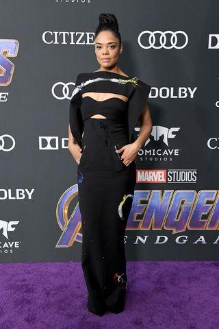 c66ad5b391ee All  Avengers  Endgame  Los Angeles Premiere Red Carpet Celebrity Dresses    Looks
