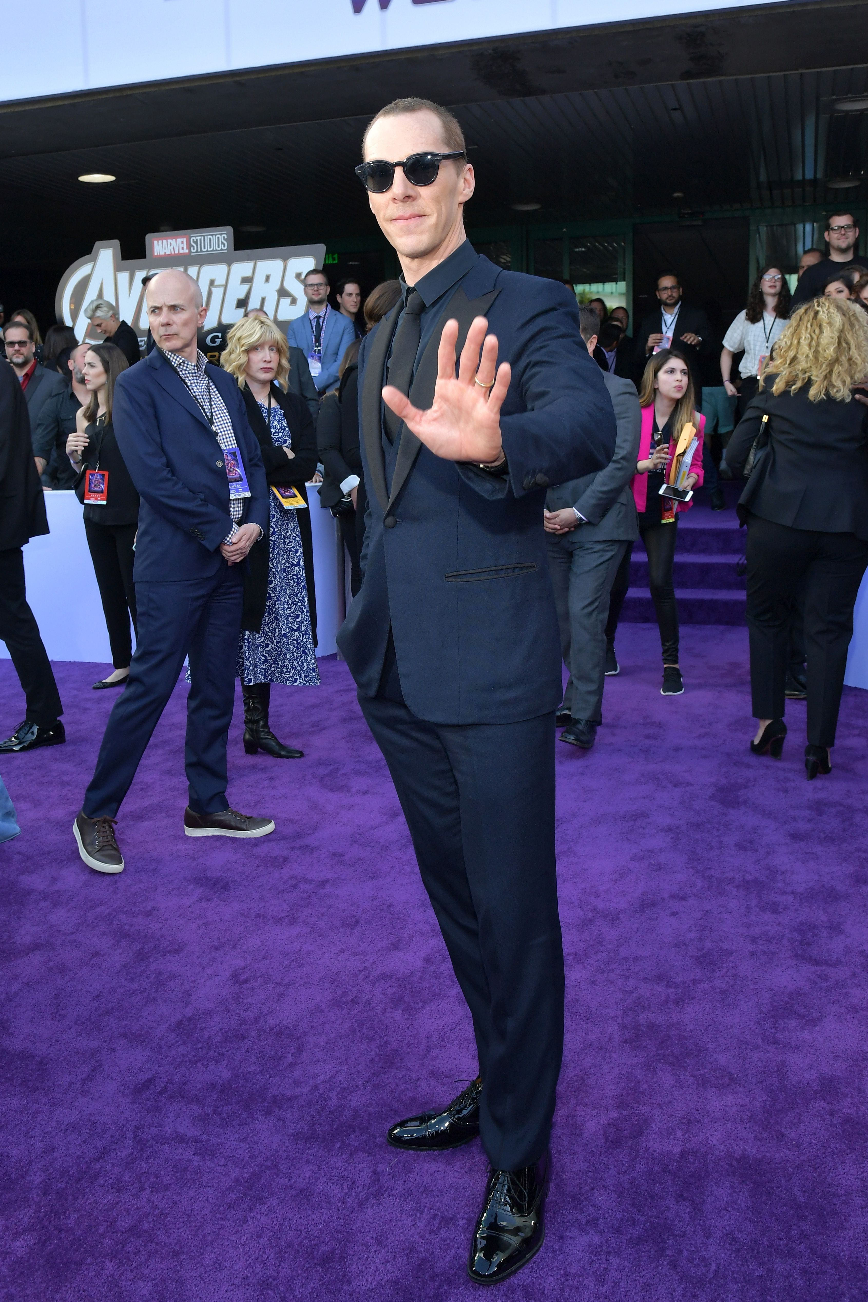 How Benedict Cumberbatch Stole The 'Avengers: Endgame' Red Carpet