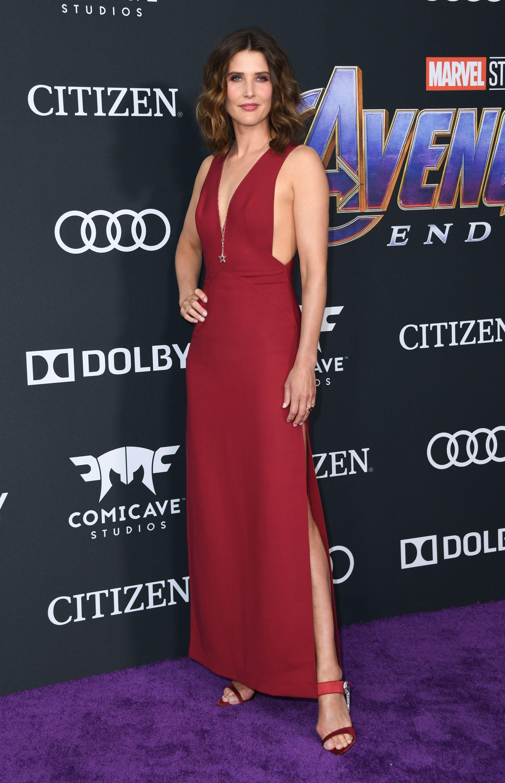 Cobie Smulders In Chloe Gosselin.