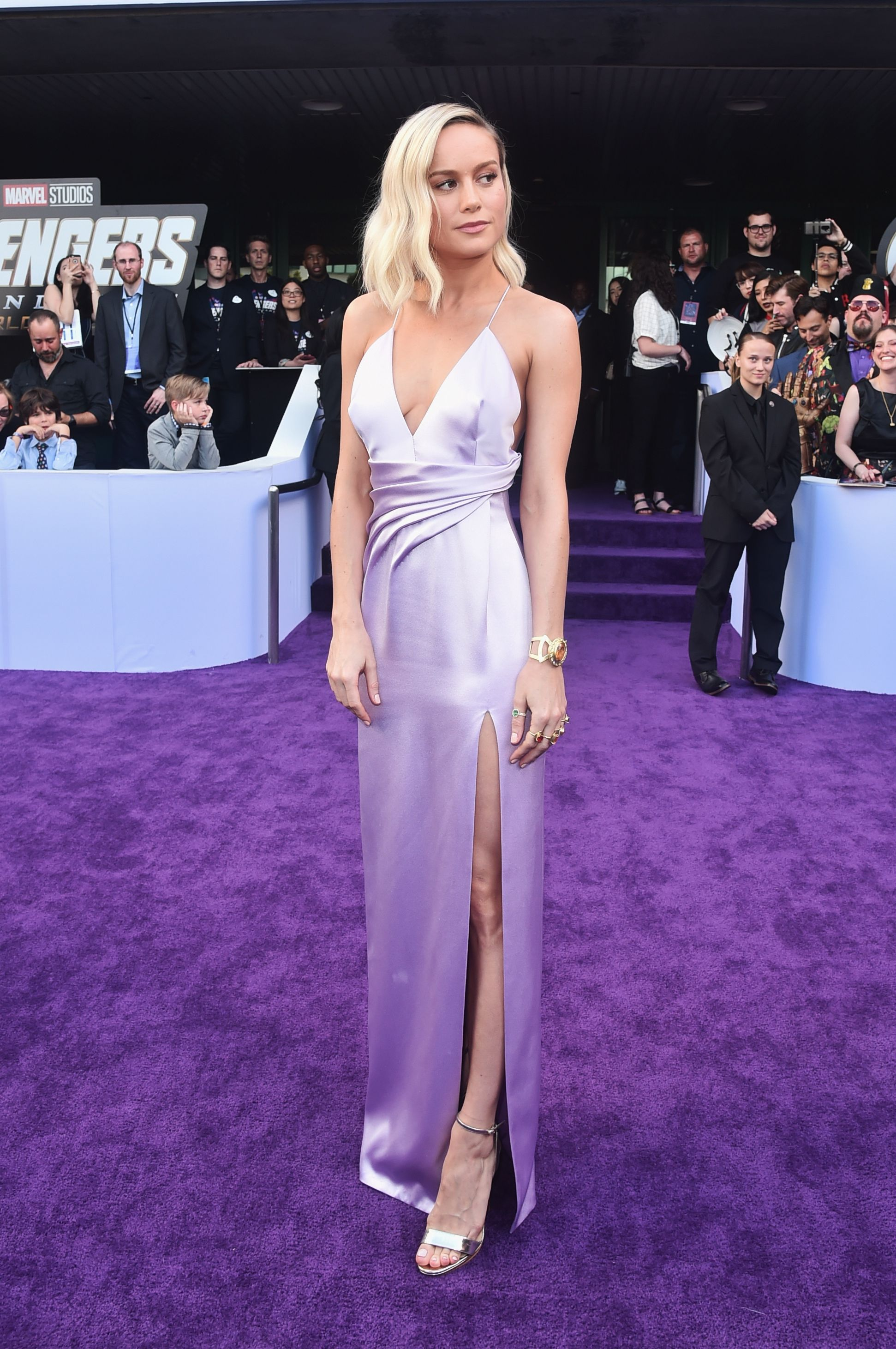 Brie Dons Premiere At AvengersEndgame Larson Jewelry Thematic F1cJlKT