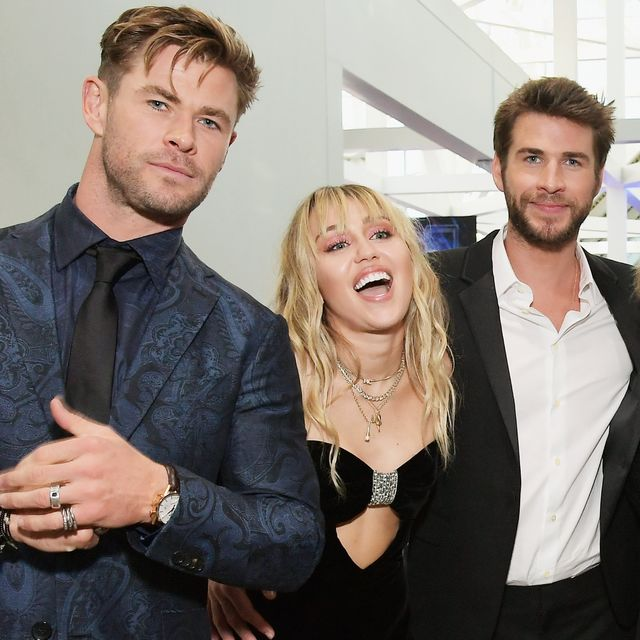 Chris Hemsworth Commented On Liam S Split From Miley Cyrus