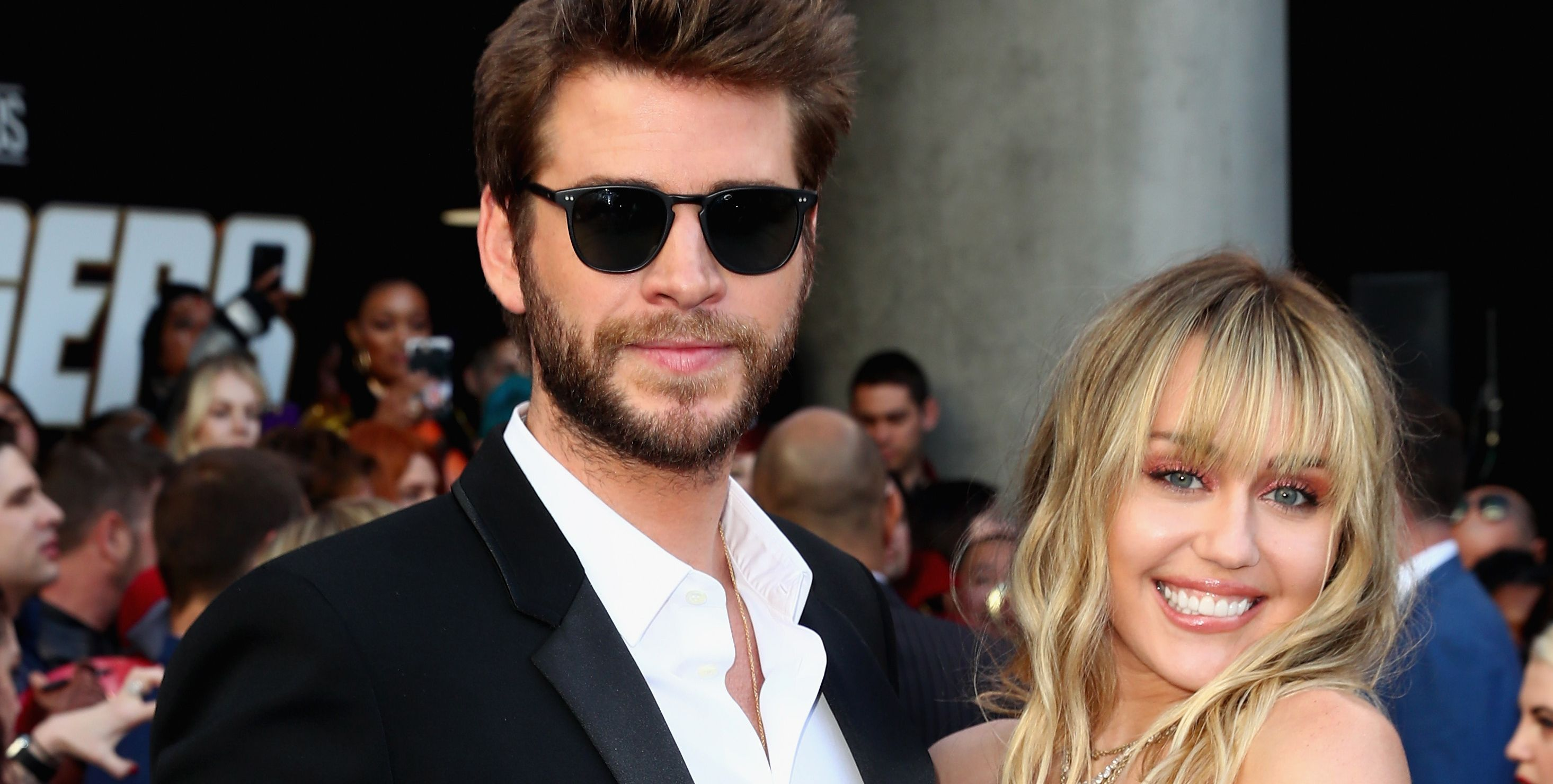 Miley Cyrus and Liam Hemsworth Showed Up to 'Avengers: Endgame' Looking Super-Sexy