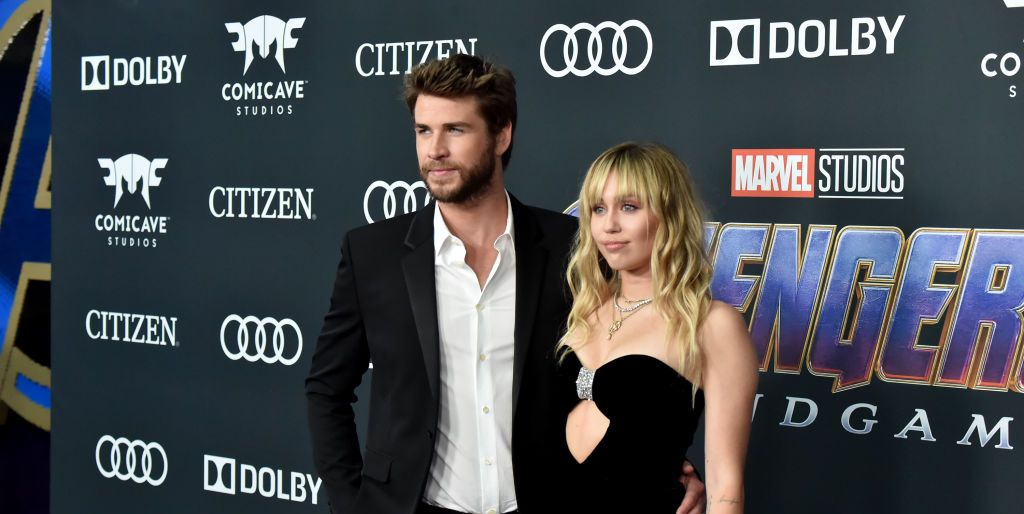 Miley Cyrus and Liam Hemsworth were adorable at the Avengers: Endgame premiere