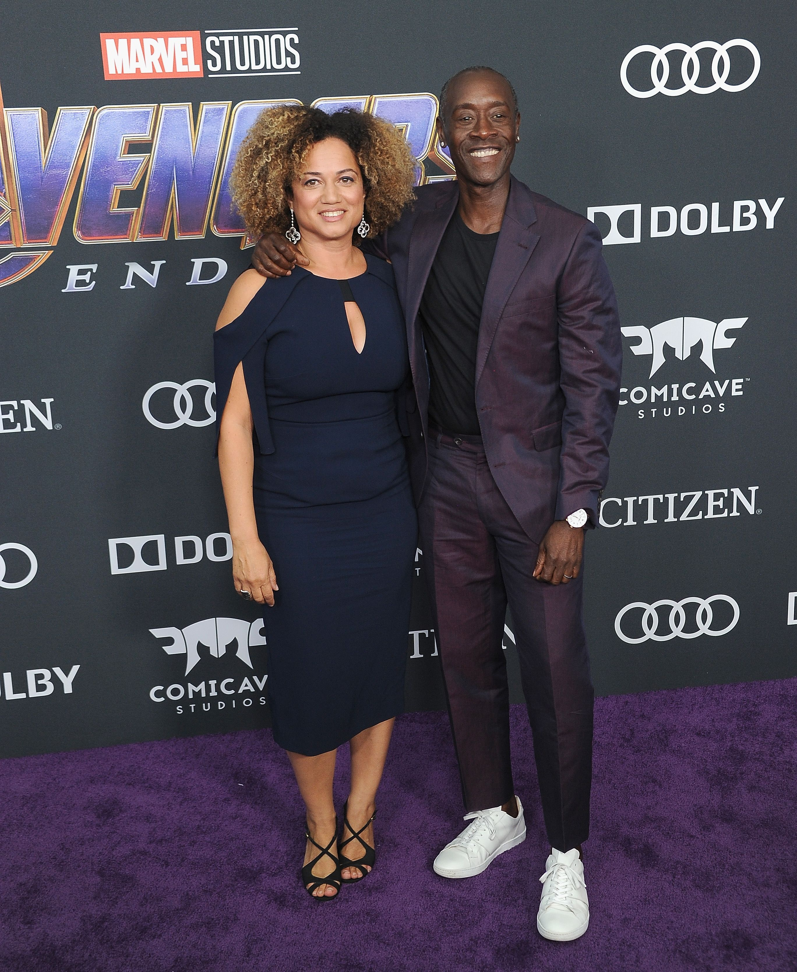 Bridgid Coulter and Don Cheadle Cheadle in Strong Suit.