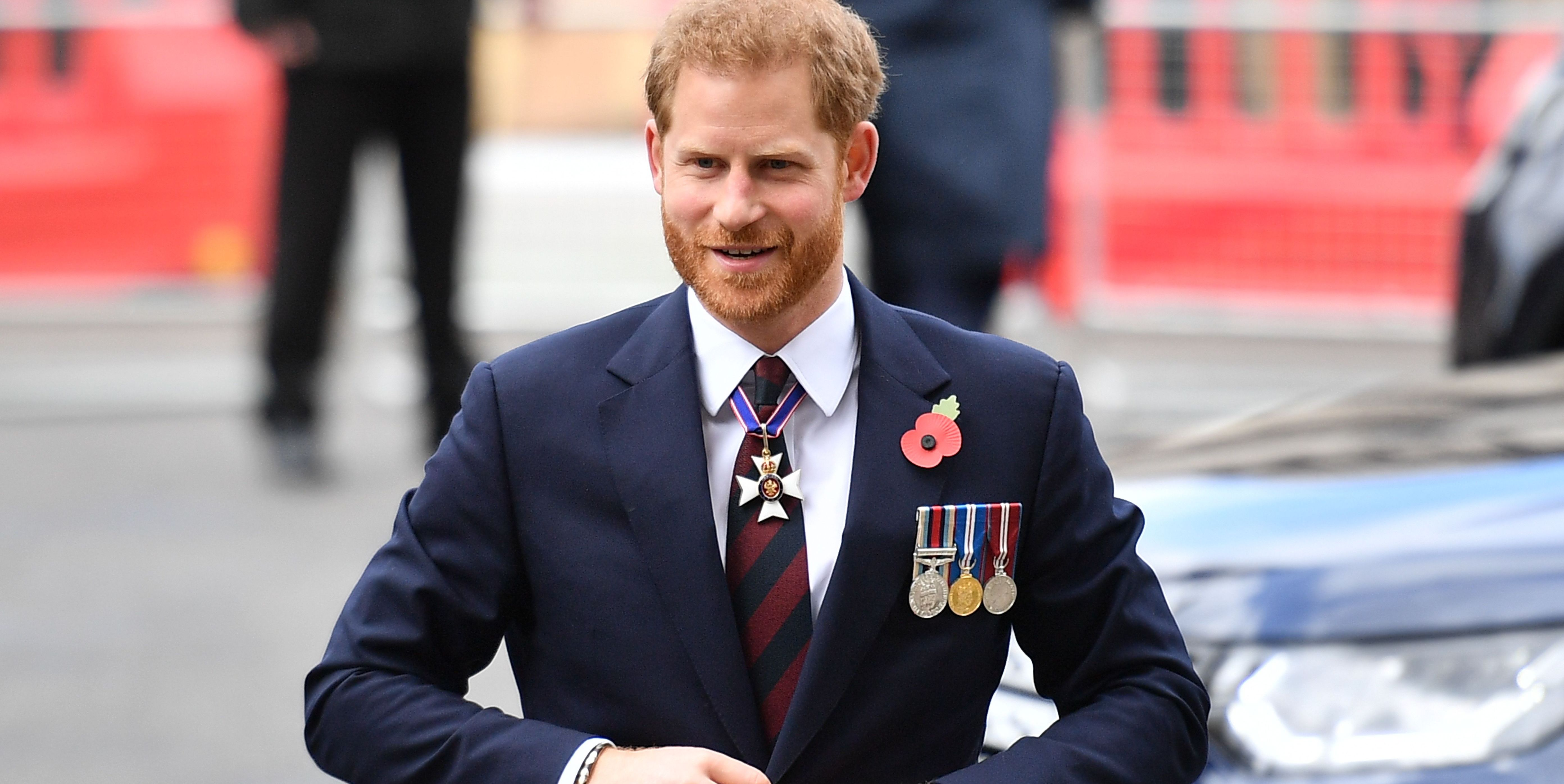 Prince Harry Basically Just Confirmed That Meghan Markle Isn't in Labor Yet