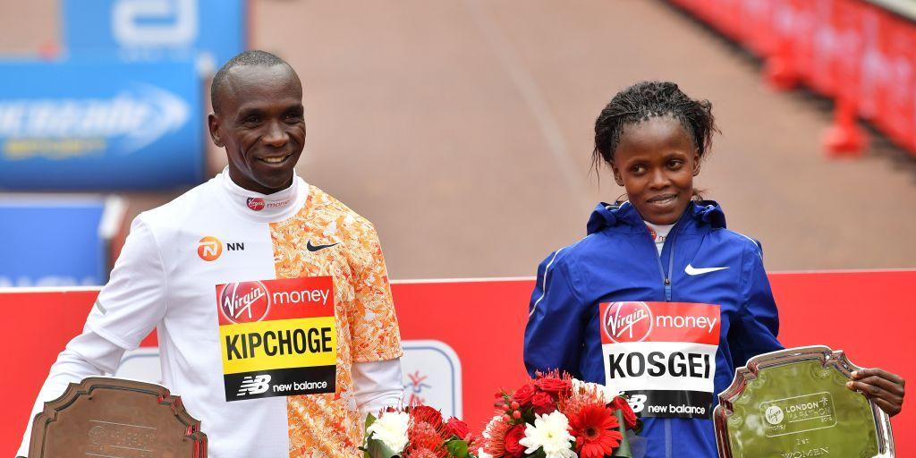 Kipchoge and Kosgei win the London Marathon 2019