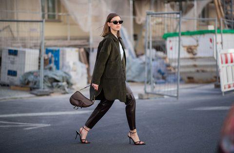 Clothing, Street fashion, Photograph, Fashion, Coat, Snapshot, Outerwear, Footwear, Eyewear, Trench coat,