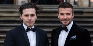 David Beckham Brooklyn Beckham