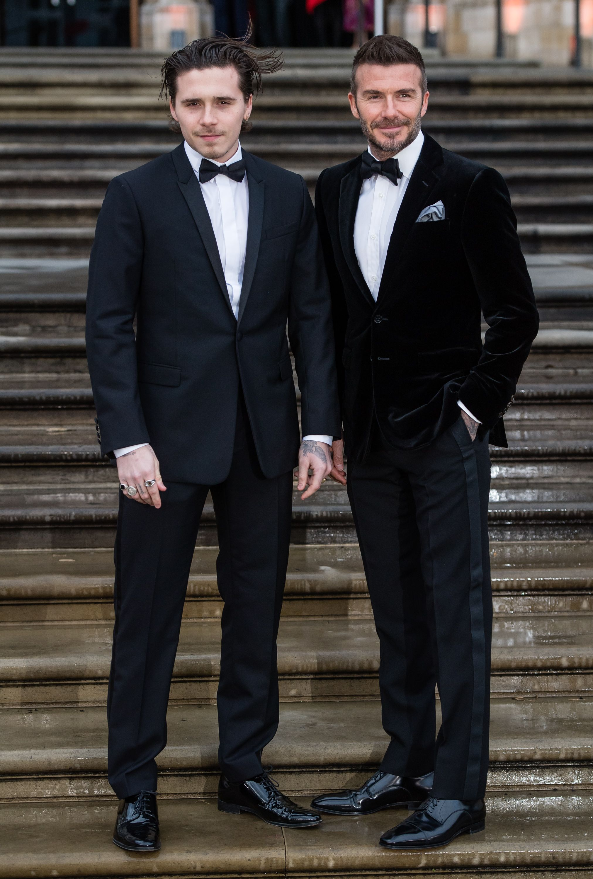 The Beckhams Just Pulled Off A Black Tie Masterclass. Here's How