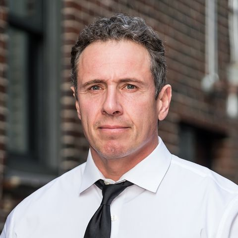 new york, ny   may 02  television journalist chris cuomo is seen arriving at the late show with stephen colbert at the ed sullivan theater on may 2, 2019 in new york city  photo by gilbert carrasquillogc images