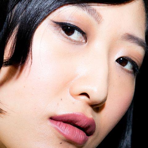 Face, Hair, Eyebrow, Lip, Cheek, Nose, Skin, Chin, Close-up, Beauty,