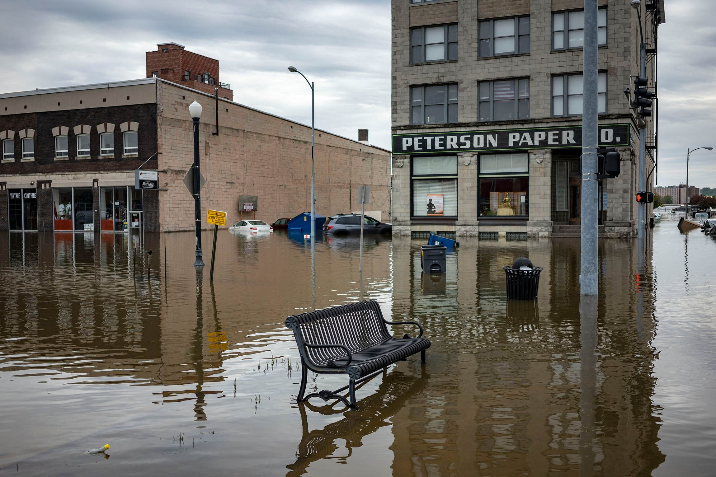 Mississippi River Flooding Decimates Midwest Communities