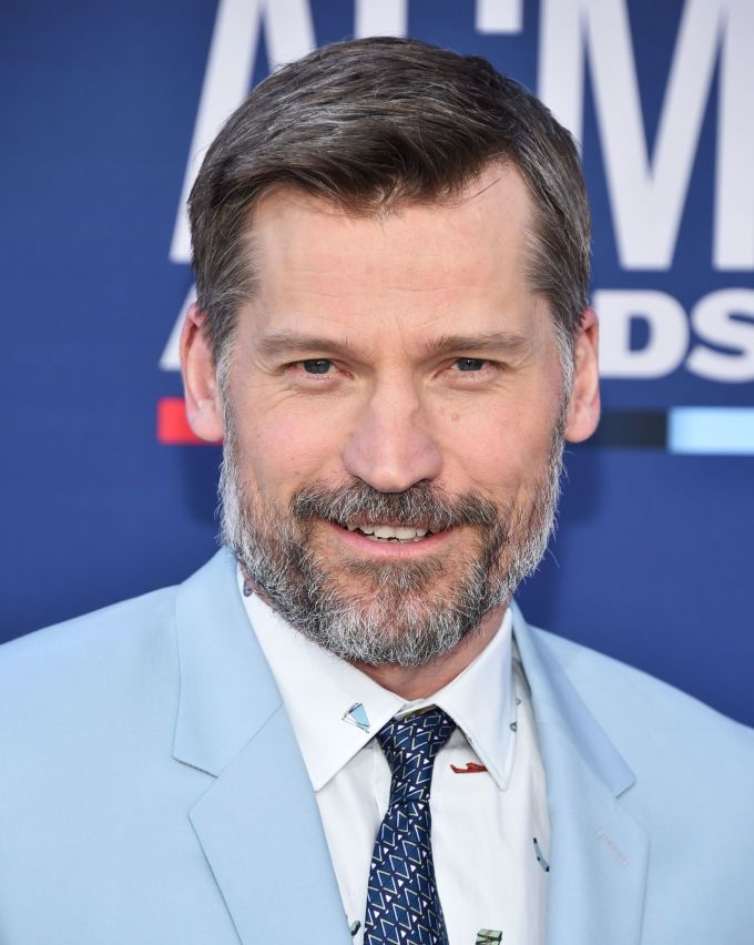 Nikolaj Coster-Waldau (and beard) In the books, Jamie Lannister grows a beard in captivity and then later shaves his head in order to go unrecognized. Now that's a look.