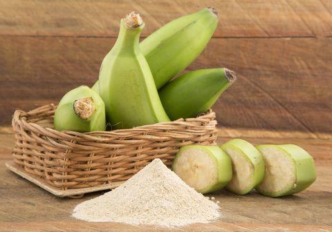 green plantain flour   musa paradisiaca