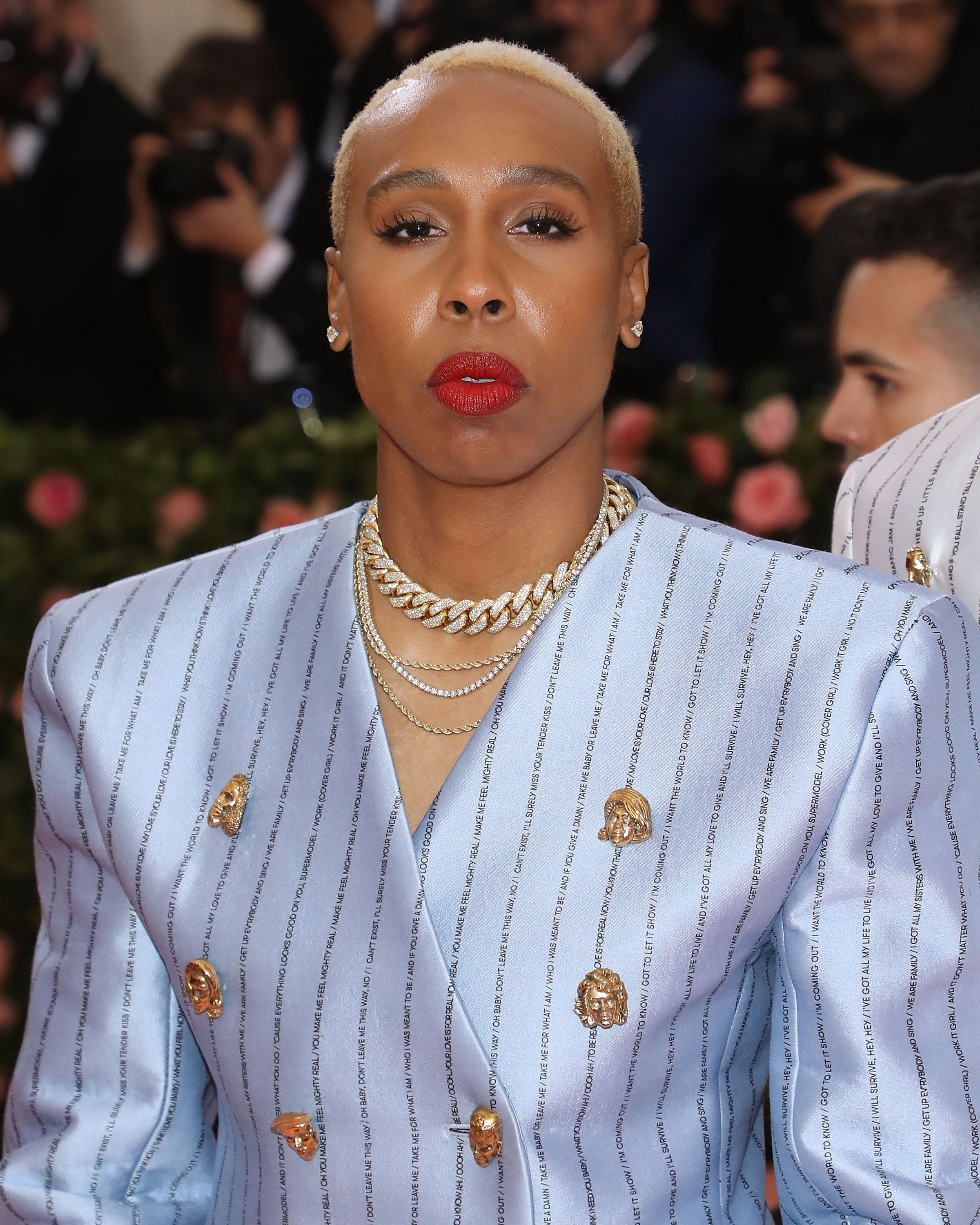 Lena Waithe's Met Gala Suit Bore An Important Message On The