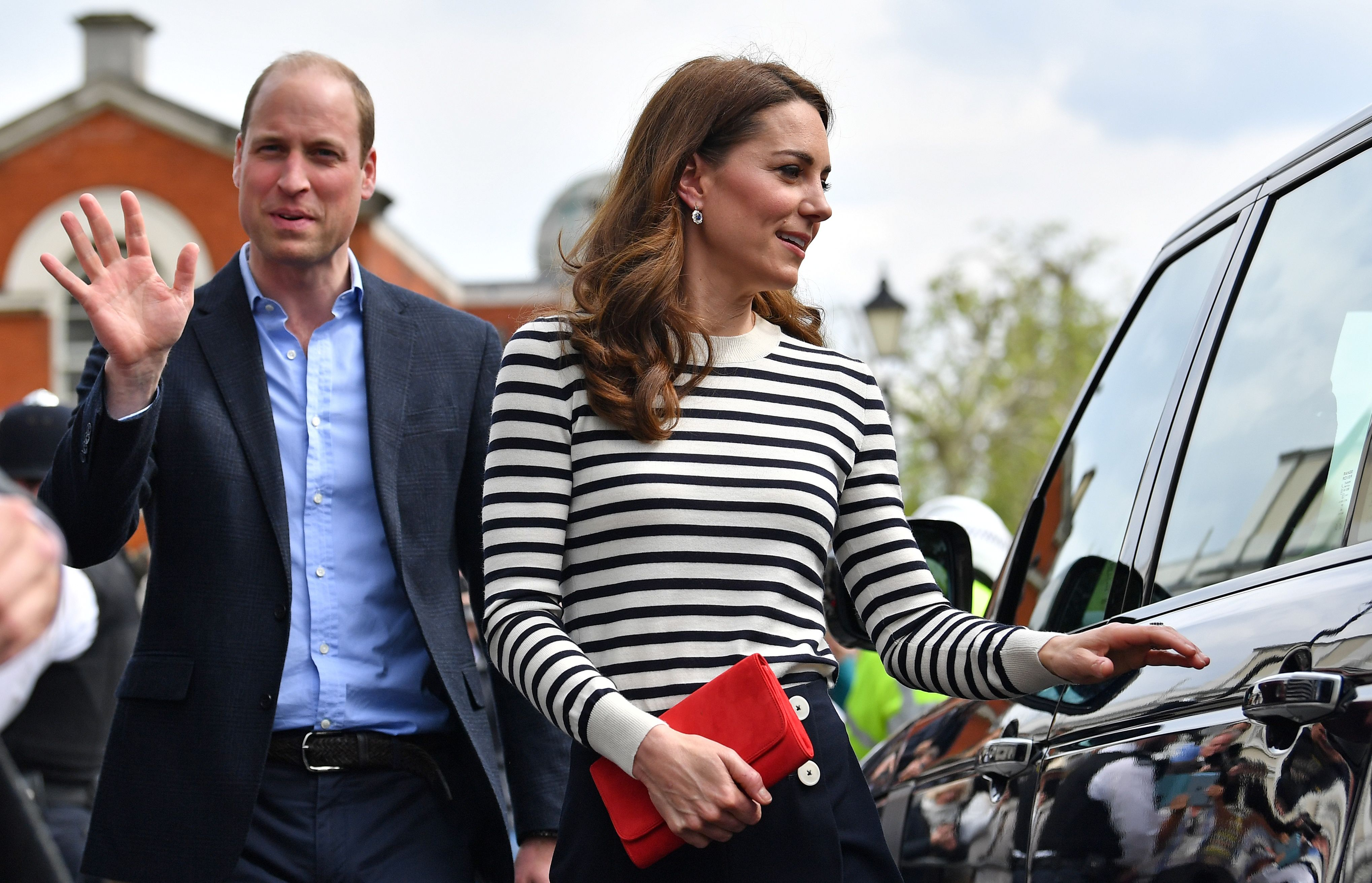 Kate Middleton, Prince William, and Their Family Were Just Spotted on a Commercial Flight
