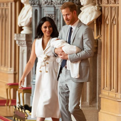 Baby Sussex first photos