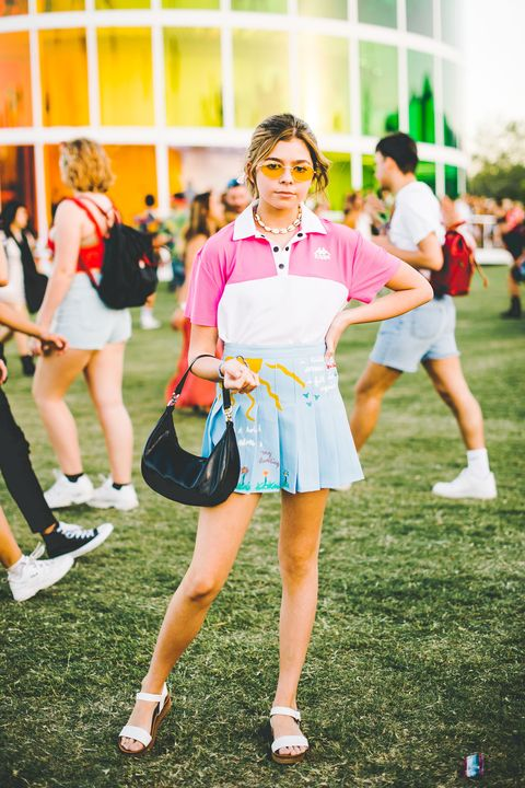 Clothing, Street fashion, Yellow, Fashion, Pink, Costume, Grass, Cosplay, Fun, Summer,