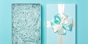 Open Empty Gift Box
