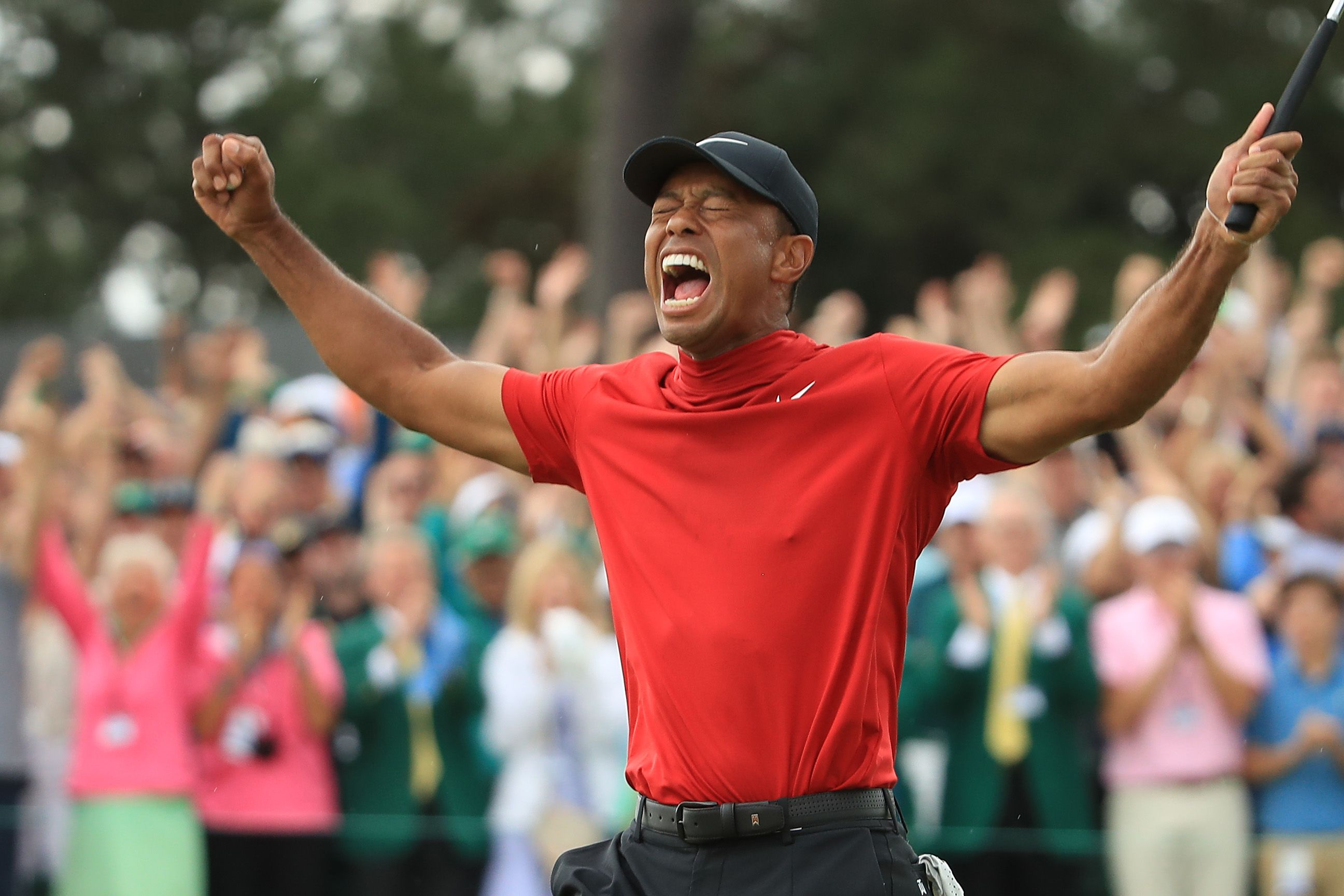Tiger Woods's 2019 Masters Win Is a Deep Exhale for a Whole Generation of Golf Fans
