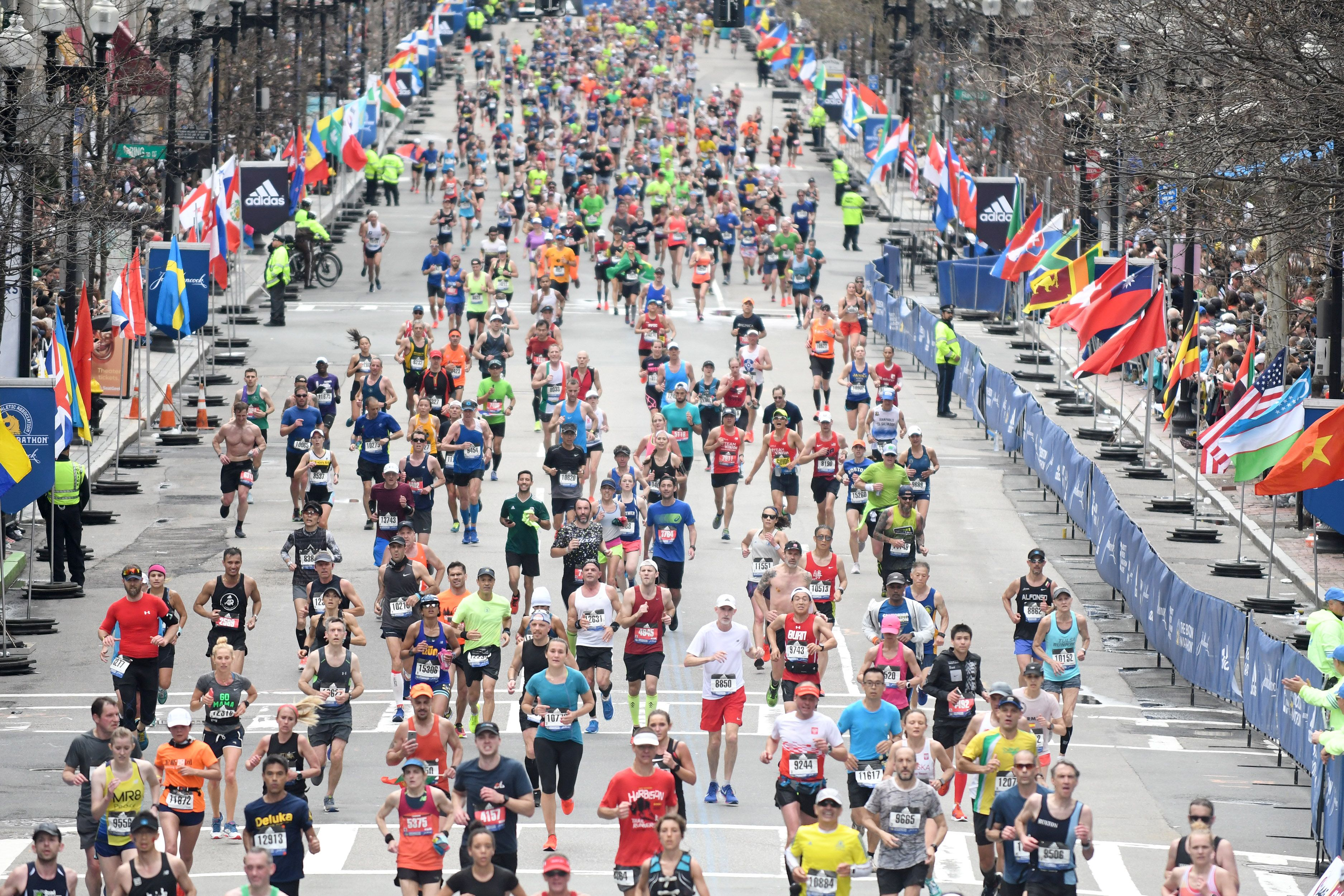 Boston Marathon canceled for 1st time