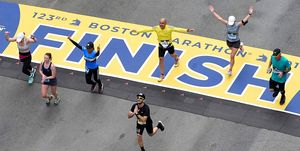 how to train for Boston Marathon