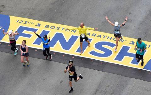 how to train for Boston Marathon