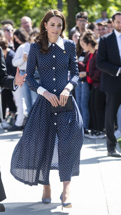 9396390fc7 Kate Middleton Can t Get Enough Of Polka Dots Right Now