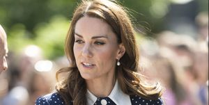 Kate Middleton Alessandra Rich Polka Dot Dress