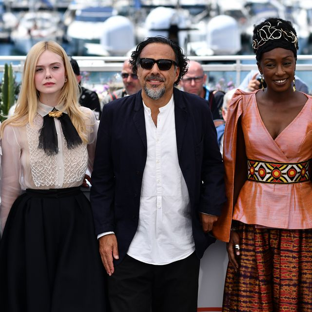 Alejandro Gonzalez Inarritu, Alice Rohrwache, Elle Fanning (2nd L), Maimouna Ndiaye y Kelly Reichardt