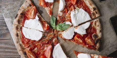 Cuisine, Food, Dish, Pizza, Ingredient, Pizza cheese, Flatbread, Italian food, Tomato, Ventricina,