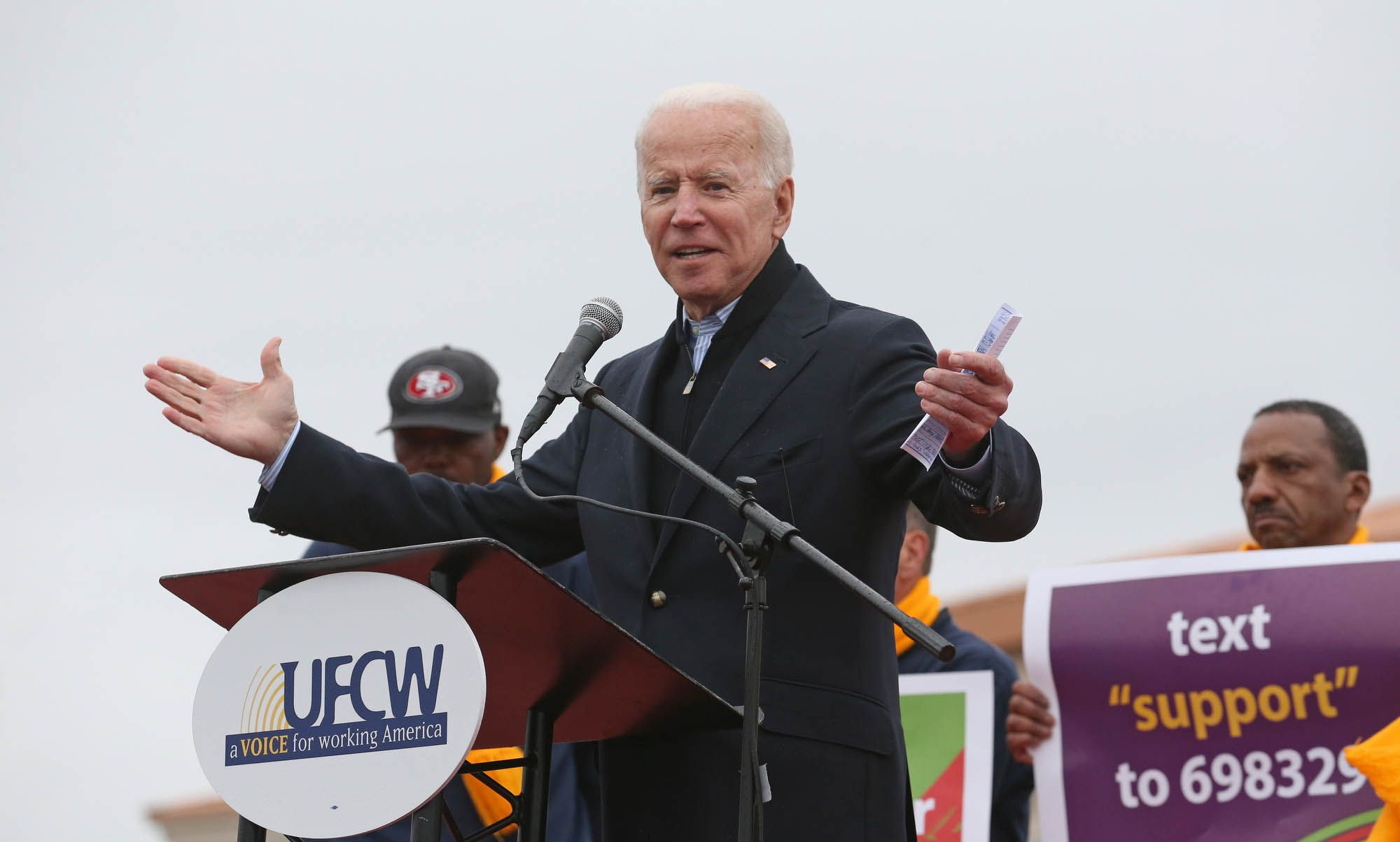 There Is No Room in the Democratic Field for Joe Biden