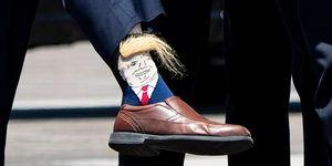 Donald Trump latest news socks