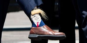 Donald Trump latest news socks