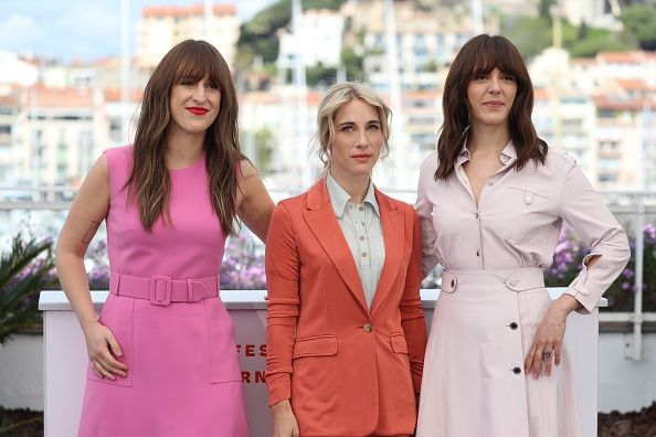 Anne-Elizabeth Bosse, Nancy Grant, and Monia Chokri At the photocall for A Brother's Love during the Cannes Film Festival.