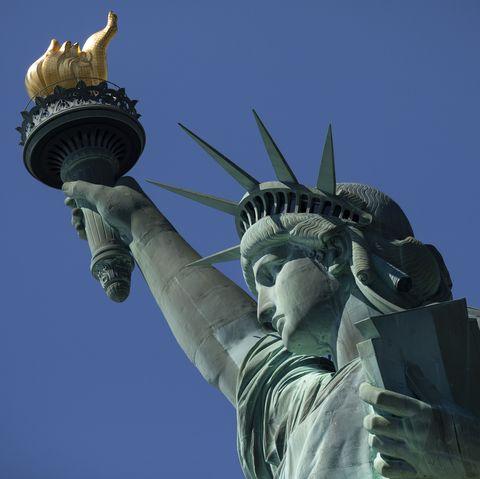 Statue, Landmark, Monument, Sculpture, Sky, Architecture, Tower, Art, National historic landmark, Photography,