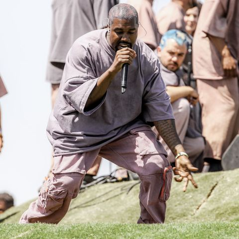 86916e858 Kanye West Sold Crazy-Expensive Church-Themed Merchandise at Coachella