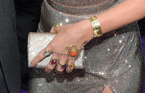 Body jewelry, Fashion accessory, Jewellery, Finger, Nail, Fashion, Silver, Hand, Bracelet, Nail care,