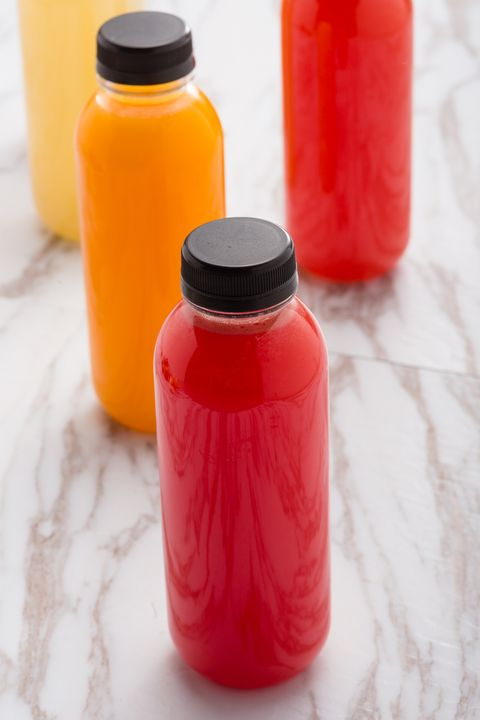 Bottled fruit juice