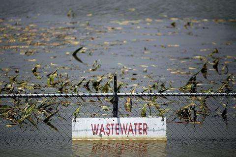 waste water treatment plant yazoo river