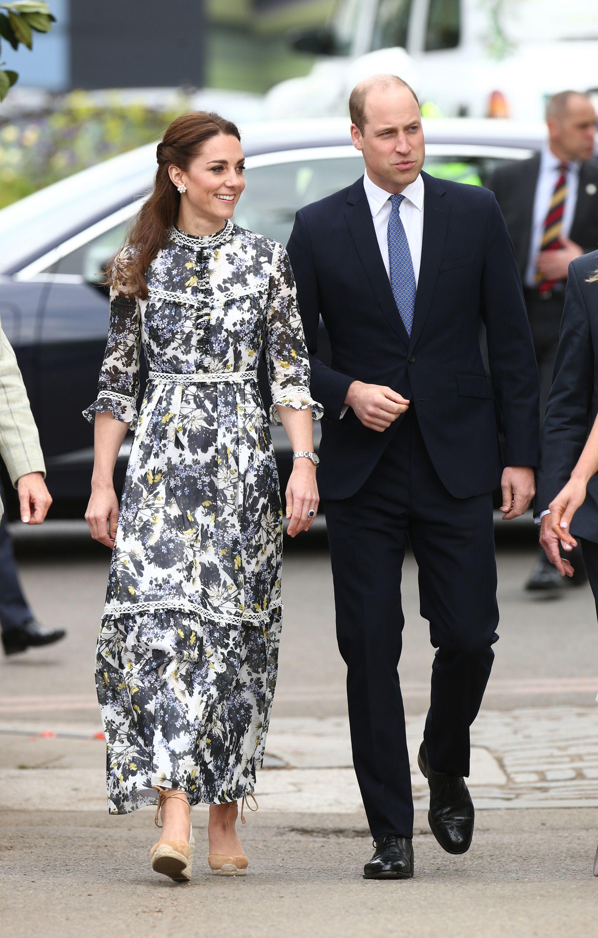 Kate Middleton's Floral Erdem Dress is a Royal Family Favorite