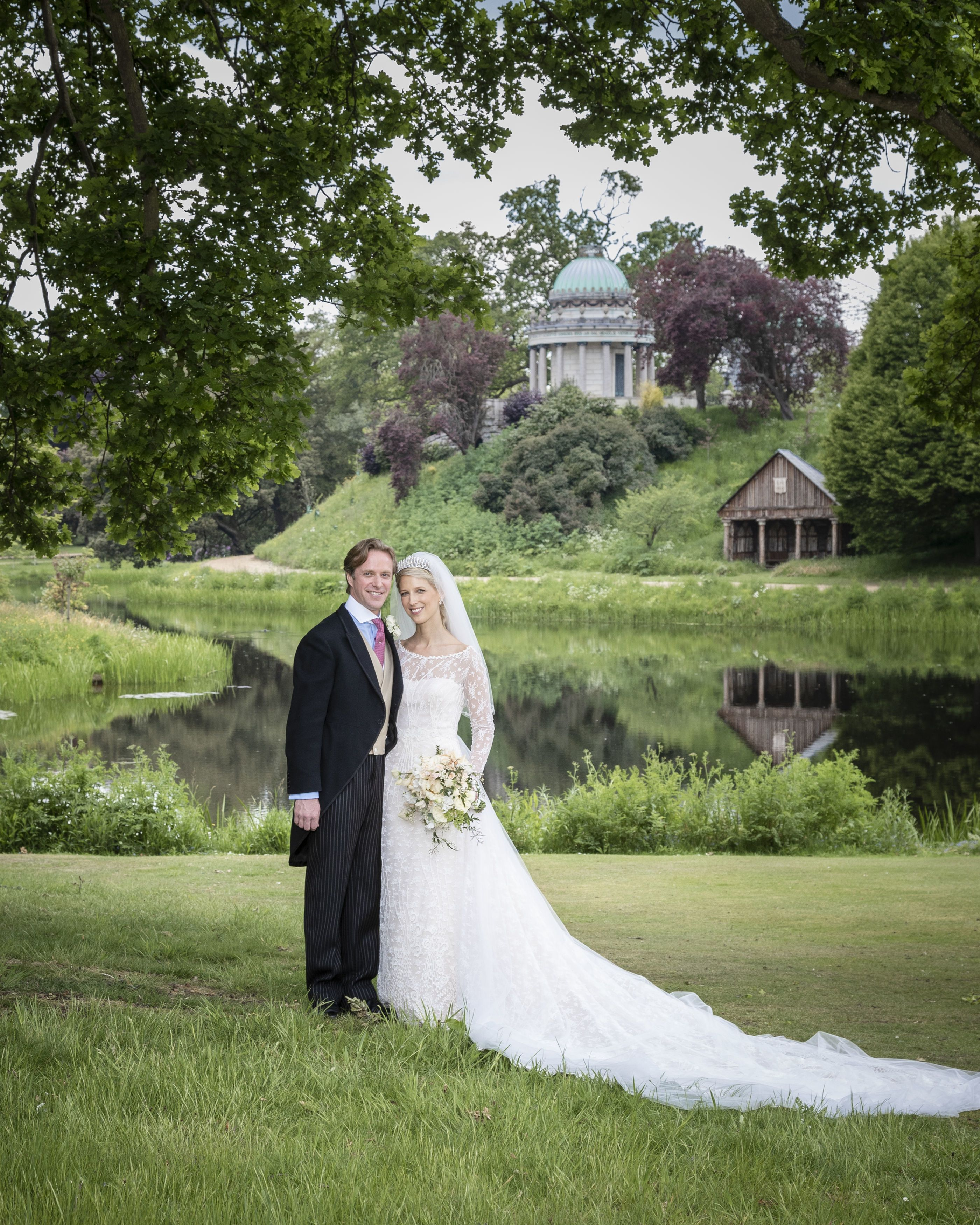 19ce7d761d9 Lady Gabriella Windsor Is Glowing in the Official Photographs from Her  Royal Wedding