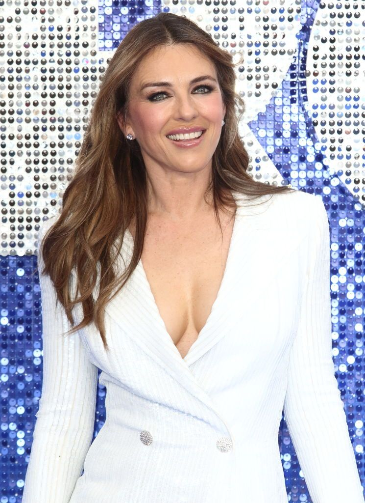 Elizabeth Hurley Just Posted A Video Showing Off Her Toned Body In A Blue Bikini