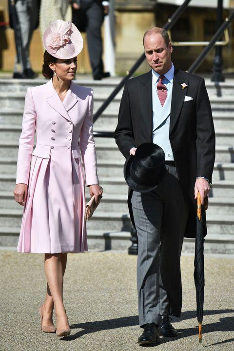 f742d490 Kate Middleton Wore an Alexander McQueen Pink Coat Dress to Queen's ...
