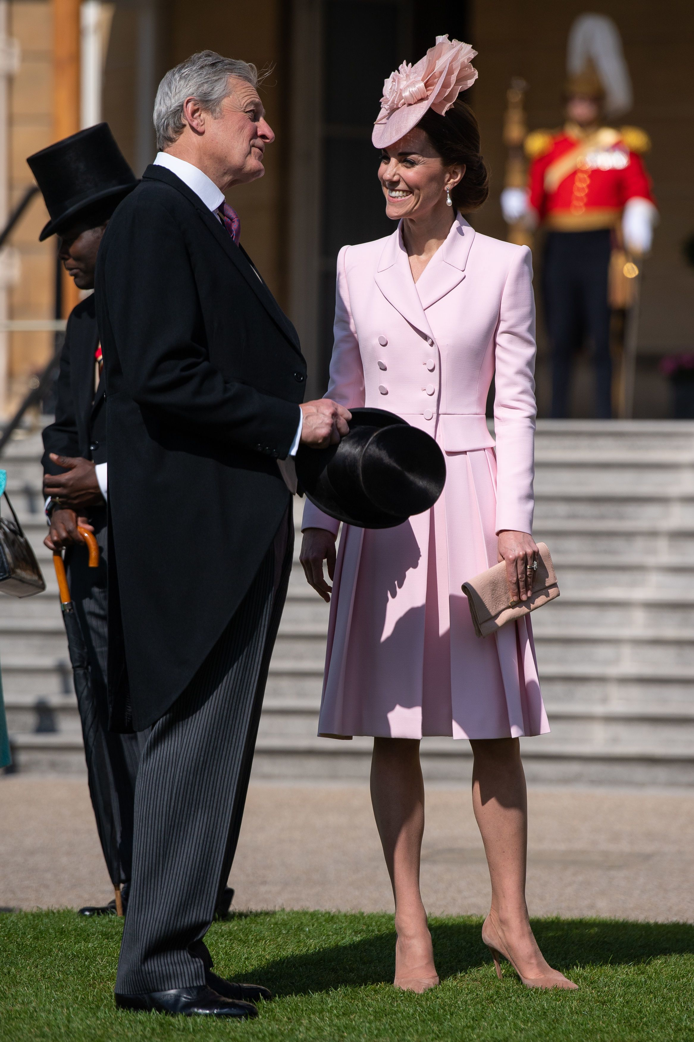 kate middleton attending the Royal Garden Party at Buckingham Palace