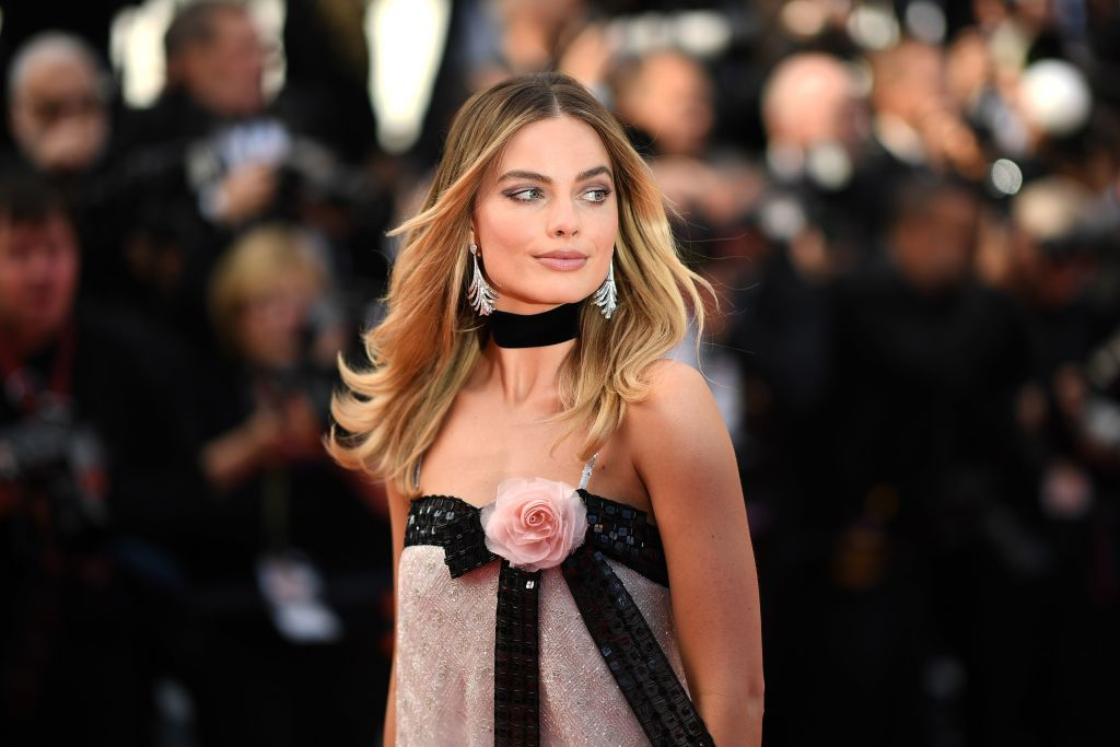 Margot Robbie at Cannes Film Festival this month. She stars as Sharon Tate in the upcoming Quentin Tarantino-directed Once Upon a Time in Hollywood .