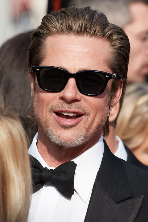 Brad Pitt Wore Garrett Leight Sunglasses on the Once Upon ...