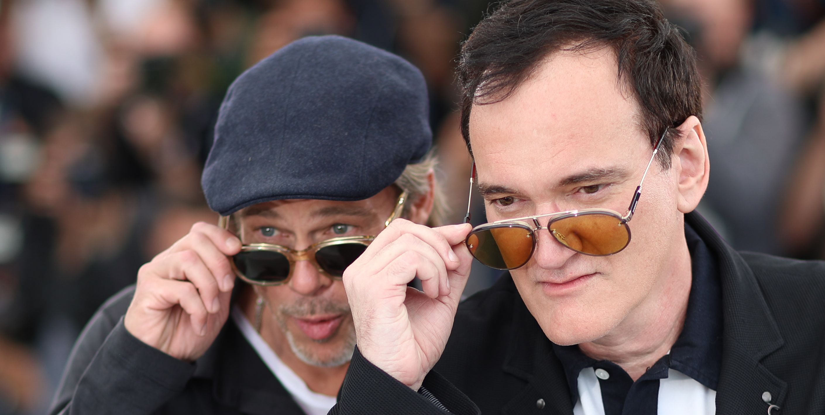 Leo, Brad And Quentin Just Schooled You On Perfect Sunglasses