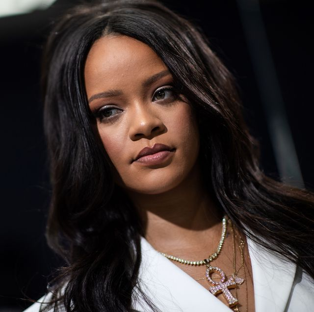 barbados singer rihanna poses during a promotionnal event of her brand fenty in paris on may 22, 2019 photo by martin bureau  afp        photo credit should read martin bureauafp via getty images