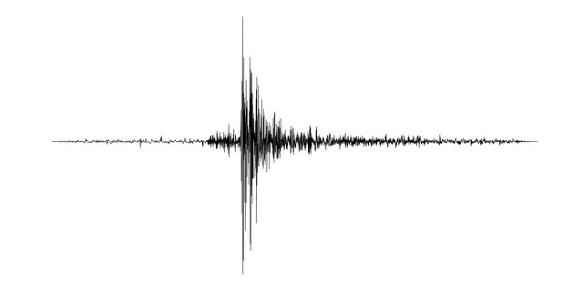 seismogram of the earthquake seismic activity record vector illustration